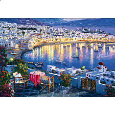 Mykonos at Sunset -