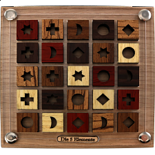 Die 5 Elemente - Mini - Wood Puzzles