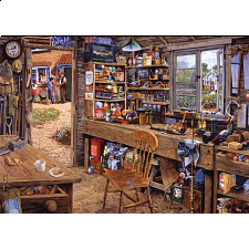 Dad's Shed - Large Piece Format -