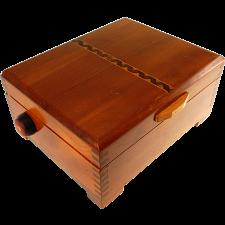 Henpecked - #37 - Vintage Retrofit Puzzle - Wooden Puzzle Boxes
