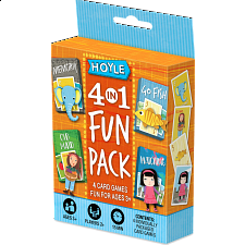 4-in-1 Fun Pack - Card Games