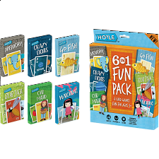 6-in-1 Fun Pack - Card Games