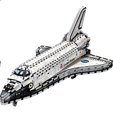 Space Shuttle Orbiter - Wrebbit 3D Jigsaw Puzzle - 101-499 Pieces