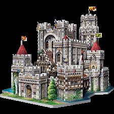 King Arthur's Camelot - Wrebbit 3D Jigsaw Puzzle -