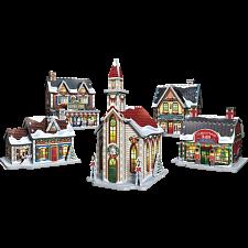 Christmas Village - Wrebbit 3D Jigsaw Puzzle -