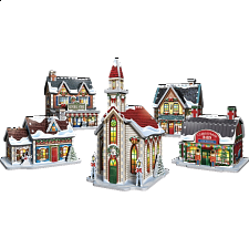 Christmas Village - Wrebbit 3D Jigsaw Puzzle -