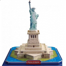 Statue of Liberty - 3D Jigsaw Puzzle - 3D
