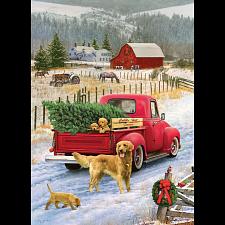Christmas on the Farm - 1000 Pieces