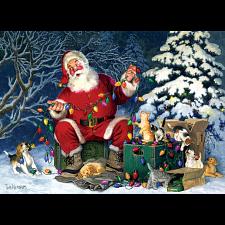 Santa's Little Helper - Large Piece - Jigsaws