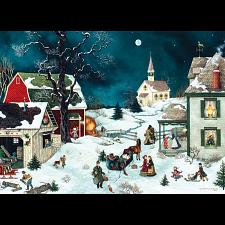 Moonlit Winter - Large Piece -