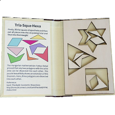 Puzzle Booklet - Tria-Squa-Hexa - Wood Puzzles