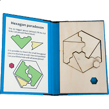 Puzzle Booklet - Hexagon Paradoxon - Peter Gál