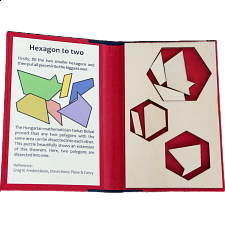 Puzzle Booklet - Hexagon to Two - Wood Puzzles