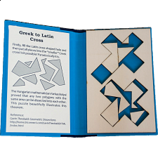 Puzzle Booklet - Greek to Latin Cross - Wood Puzzles