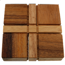 Cross Out - Wood Puzzles