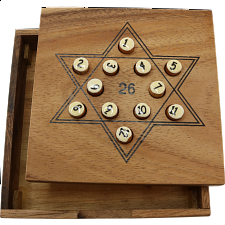Star 26 Math Puzzle - Other Wood Puzzles