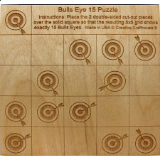 Bulls Eye 15 - Other Wood Puzzles