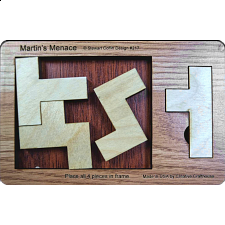 Martin's Menace - Small - Other Wood Puzzles