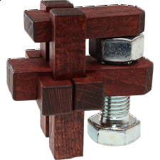 Roof Nut - Wood Puzzles