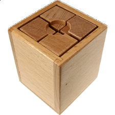 Checker-board Box - Other Wood Puzzles