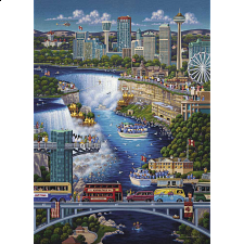 Niagara Falls - 500 Piece - Jigsaws