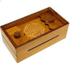 Secret Opening Box - Long Life Bank - Wooden Puzzle Boxes