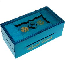 Secret Opening Box - Good Luck Bank - Wood Puzzles