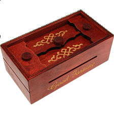 Secret Opening Box - Good Fortune Bank - Wood Puzzles