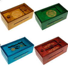 Group Special - a set of 4 Secret Opening Boxes - Engraved -