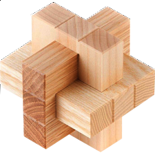 Burr of Nine Boxes - Other Wood Puzzles
