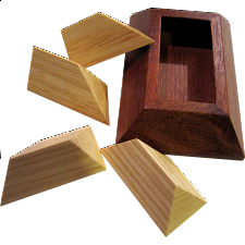 Packed Pyramid - Other Wood Puzzles