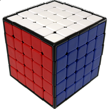 5x5x5 Professor Cube - Black Body -