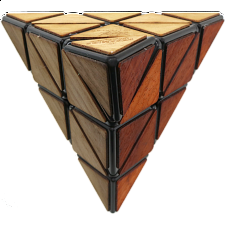 Meffert's Wooden Pyraminx - Rubik's Cube & Others