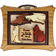 Katzen Pension - Wood Puzzles