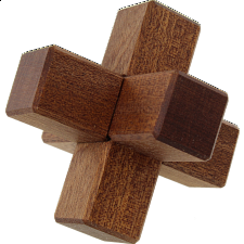 3 Piece Burr - Wood Puzzles