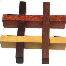 Hashtag Puzzle - Other Wood Puzzles