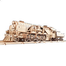 Mechanical Model - V-Express Steam Train with Tender - Search Results
