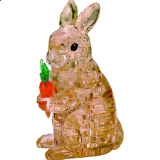 3D Crystal Puzzle - Rabbit -