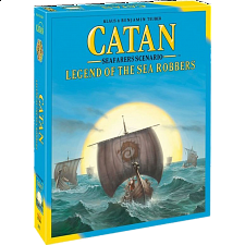 Catan Seafarers Scenario: Legend of the Sea Robbers -