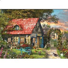 The Country Shed - Large Piece Family Puzzle - 101-499 Pieces