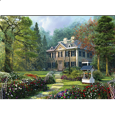 Longfellow House - Large Piece Family Puzzle -