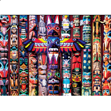 Totem Dreams - Large Piece Jigsaw Puzzle - New Items