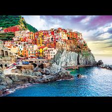 Mediterranean Oasis: Manarola, Cineque-Terre, Italy - 1000 Pieces