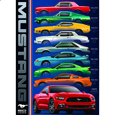 Ford Mustang - 50 Years -