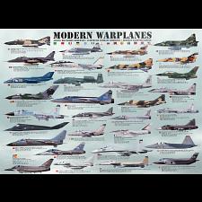 Modern Warplanes - 1000 Pieces