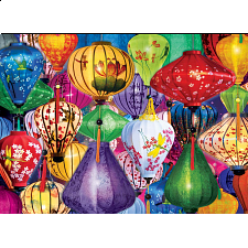 Asian Lanterns - 1000 Pieces