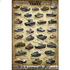 World War II Tanks - New Items