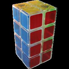 1688Cube 2x2x4 II Cuboid (center-shifted) - Ice Clear Body -