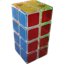 1688Cube 2x2x4 II Cuboid (center-shifted) - Ice Clear Body -