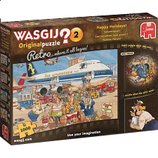 Wasjig Original Retro #2: Happy Holidays - Wasgij